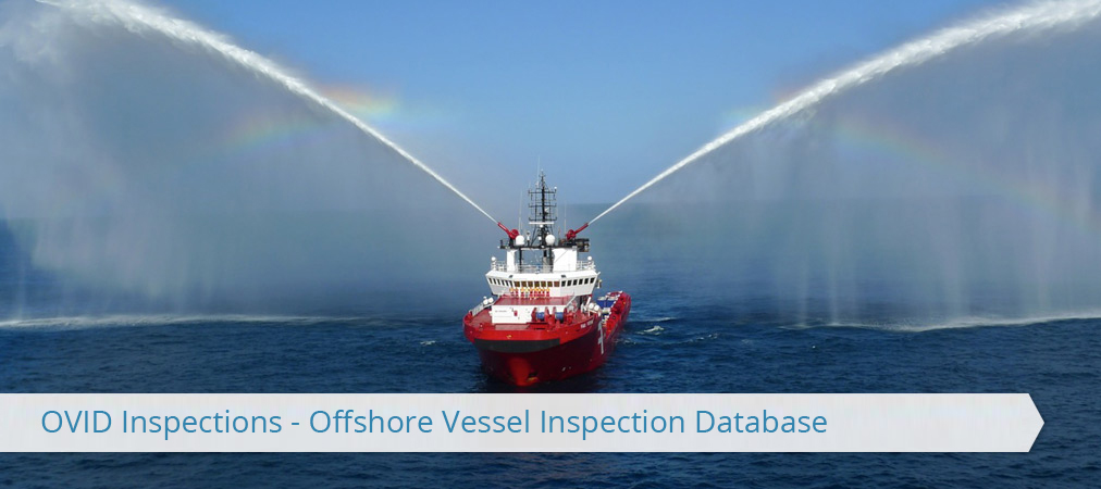 OVID Inspections - shore Vessel Inspection Database